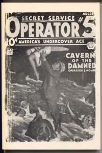 Operator #5 1/1980-Dimedia-reprints pulp of 18/1934-Cavern of The Damned-VF