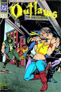 Outlaws (1991 series) #4, NM (Stock photo)