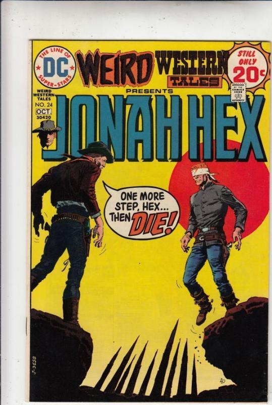 Weird Western Tales Jonah Hex 24 strict NM- 9.2 High-Grade  C'ville Collection