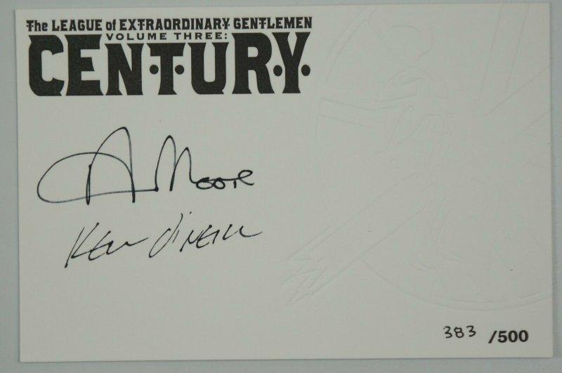 League of Extraordinary Gentlemen Century HC 3 VF/NM signed alan moore (383/500)