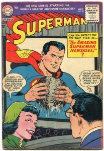 Superman #98 1955- Lois Lane- DC Silver Age- FN-