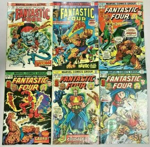 FANTASTIC FOUR#158-165 FN/VF LOT (6 BOOKS) 1975 MARVEL BRONZE AGE COMICS