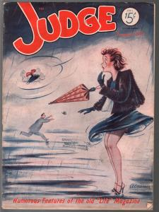 Judge 4/1943-jokes & cartoons- WWII era issue-FR/G