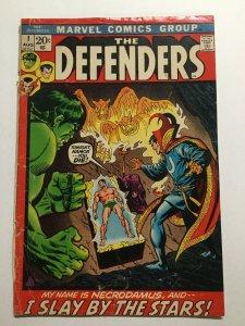Defenders 1 Good Gd 2.0 Cover Detatched Marvel