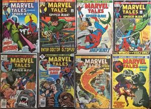 MARVEL TALES #34,35,38,49,55,58,80,82 FINE/VF (COVERS HAVE WEAR,INSIDES GREAT)