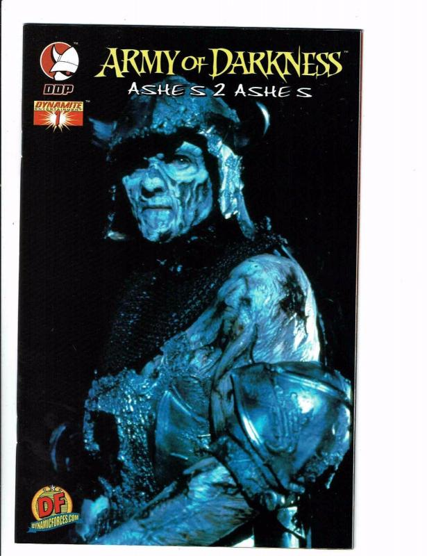 Army Of Darkness 1 NM Ashes 2 DDP Dynamite Comic Dynamic Forces Var J113