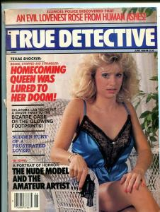 TRUE DETECTIVE-JUNE 1989-VG/FN-SPICY-MURDER-RAPE-STRANGULATION-SNUFF-NUDE VG/FN