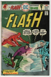 Bronze Age Flash Comics #238 6.0 Fine condition A Switch in Crime 1974