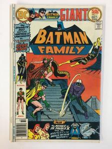 BATMAN FAMILY 7 VG+  October 1976 COMICS BOOK