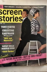 Screen Stories June 1964-Tony&Christine Hayley&Miss Kerr!C all my mags! Combine!