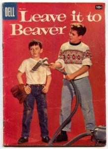 LEAVE IT TO BEAVER- Four Color Comics #912 1958-  VG-