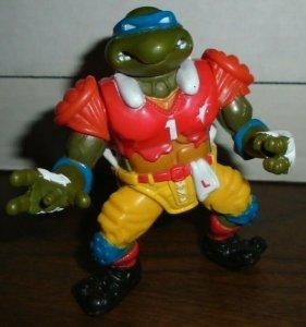 Football Leo Leonardo Action Figure Teenage Ninja Turtle Action Figure 1991