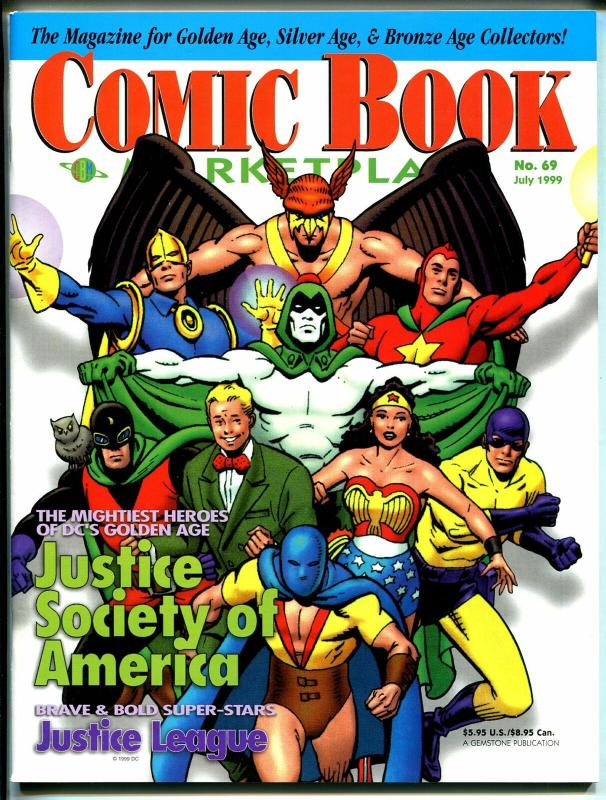 Comic Book Marketplace #69 1999-Gemstone-Justice Society of America-VF