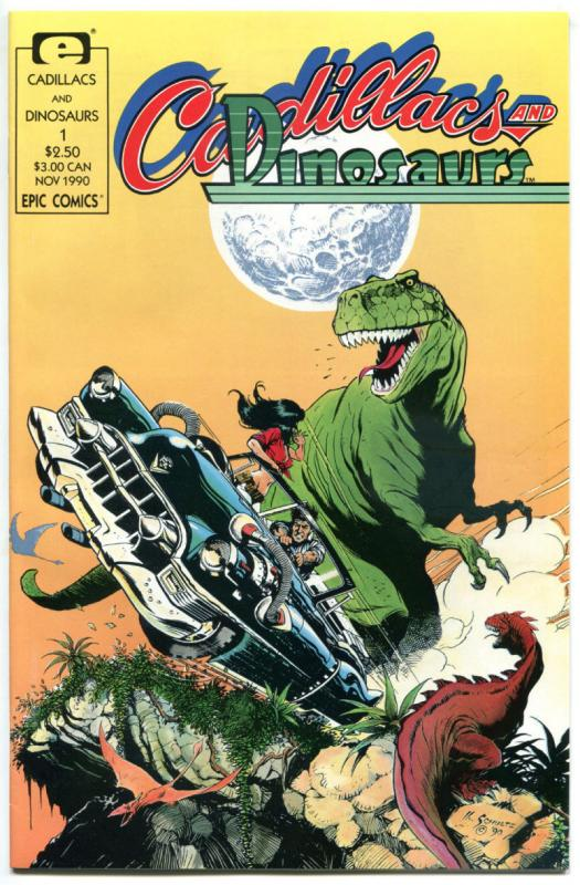 CADILLACS & DINOSAURS #1 2 3 4 5 6, VF/NM to NM-, Mark Schultz, 1990, T-rex,