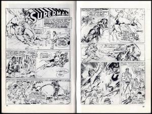 AMAZING WORLD OF DC Con 1976/newADAMS SUPERMAN+