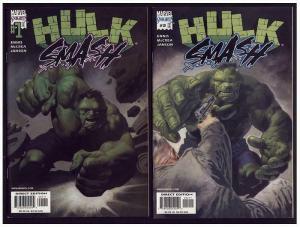 HULK SMASH ENNIS JANSON  1-2 (2001)