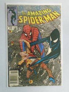 Amazing Spider-Man #258 News Stand edition 5.0 VG FN (1984 1st Series)