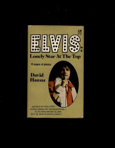 3 Books Elvis Lonely Star At the Top (x2), The Private Elvis JL23