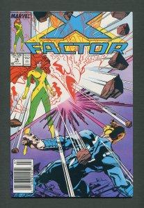 X-Factor #18  / 9.6 NM+ /  Newsstand / July 1987