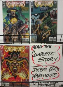 CONJURORS(1999) 1-3  Complete Story Elseworlds