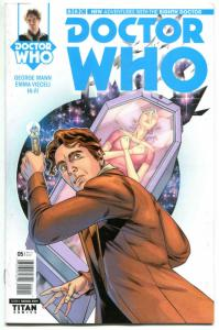 DOCTOR WHO #5 A, NM, 8th, Tardis, 2016, Titan, 1st, more DW in store, Sci-fi