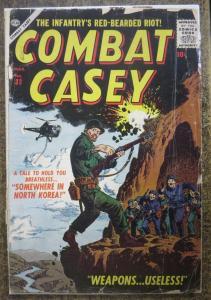 COMBAT CASEY #32 (ATLAS, 2/1957) FAIR, LOOSE COVER