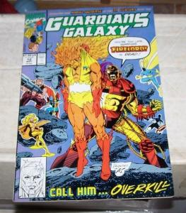 Guardians of the Galaxy #12 (May 1991, Marvel) firelord overkill starlord vance