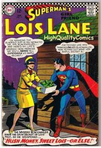 SUPERMAN'S GIRLFRIEND LOIS LANE 71, VG+, 2nd Catwoman, 1958,more CW in store