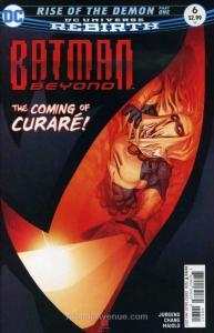 Batman Beyond (6th Series) #6 VF/NM; DC | save on shipping - details inside