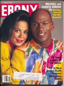 Ebony 11/1991-Michael Jordan-Jennifre Holliday-Spike Lee-Black moviemakers-FN