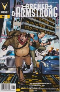 Archer and Armstrong (2nd Series) #8 VF/NM; Valiant   save on shipping - details