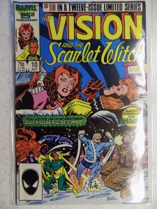 The Vision and the Scarlet Witch #10 (1986)