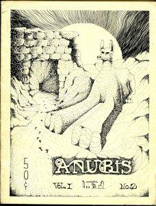 Anubis #2-Spring 1967-Golden Goblin Press-weird pulp fiction-Ronald J Willis-FN