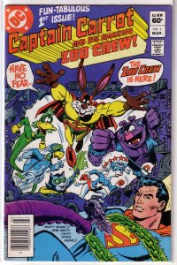 Captain Carrot and His Amazing Zoo Crew   # 1 FN