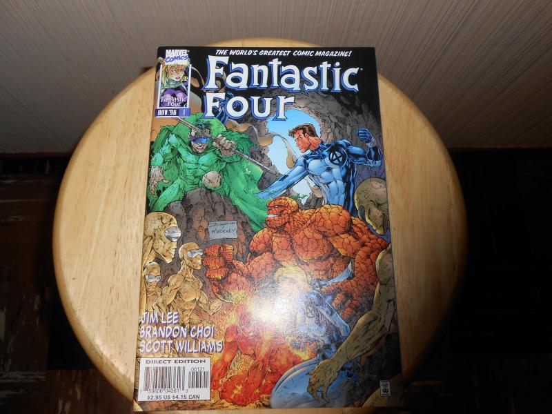 Fantastic Four (1996 2nd Series) #1B Nov 1996 Cover price $2.95 Marvel