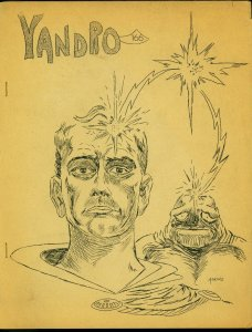 Yandro Fanzine #166 1965- Sci fi- George Barr- Dan Adkins FAIR