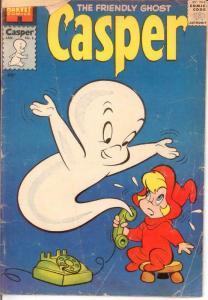 CASPER  (1958-    ) 5 FR-G Jannuary 1959 COMICS BOOK