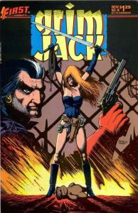 Grimjack #16 VF/NM; First | save on shipping - details inside