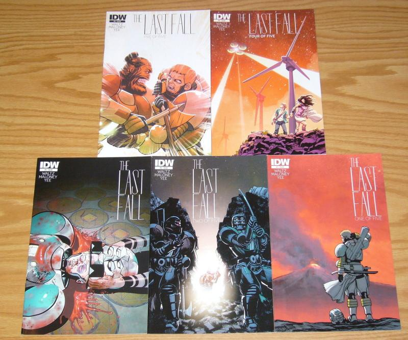 the Last Fall #1-5 VF/NM complete series - sci fi revenge story - tom waltz set