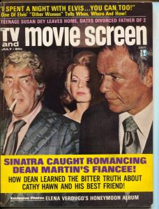 TV And Movie Screen-Frank Sinatra-Dean Martin-July-1972