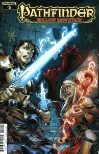 Pathfinder: Hollow Mountain #5A FN; Dynamite | save on shipping - details inside