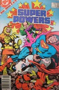 Super Powers DC Comics 1984 Copper Age 75 Cent Fine