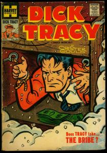 Dick Tracy #86 1955- Harvey Comics- Chester Gould- Girl Friday VG
