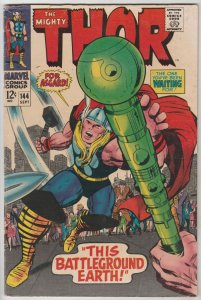 Thor, the Mighty #144 (Sep-67) FN+ Mid-High-Grade Thor