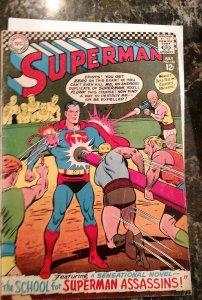 Superman #188 (DC,1966) Condition_VG