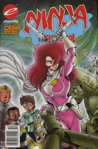 Ninja High School in Color #10 (Newsstand) FN; Eternity | save on shipping - det