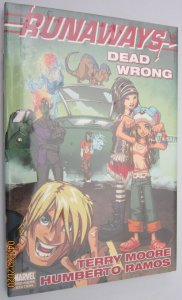 Runaways dead wrong HC #1B NM (in cello) (2009)