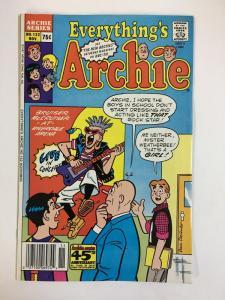 EVERYTHINGS ARCHIE (1969-1991)132 VF-NM Nov 1987 COMICS BOOK