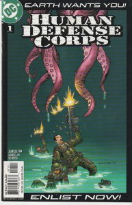 Human Defense Corps # 1,2,3,4,5,6  Protectors from Alien Incursion