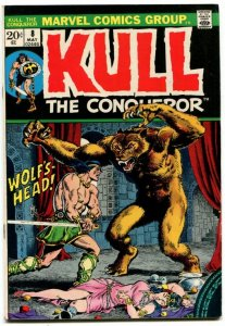 Kull The Conqueror #8 (7.0-7.5) 1973 Bronze Age Marvel ID94H